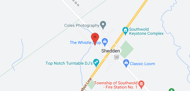 map of 9649 FRANCIS STREET