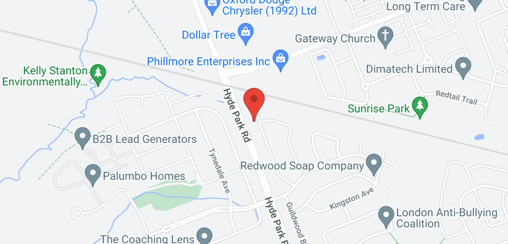 map of 1 - 6709 VICTORIA ROAD S