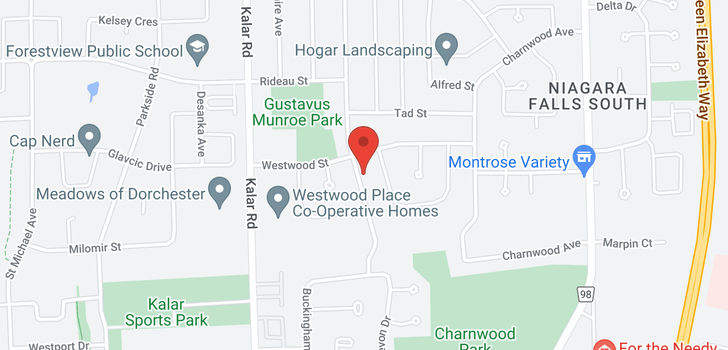 map of 6520 PITTON Road