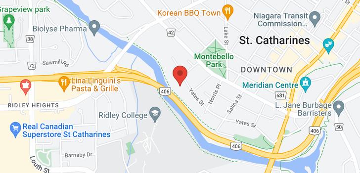 map of 403 -  77 Yates Street