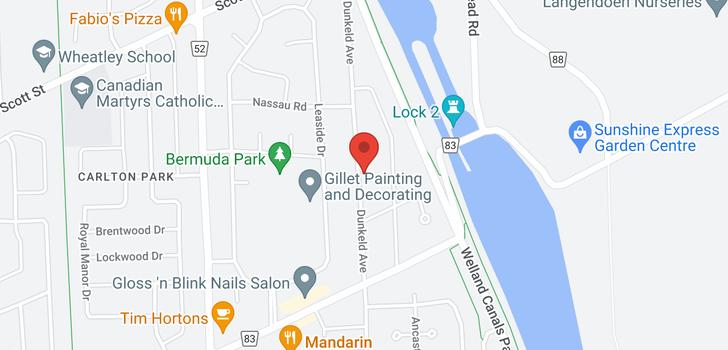 map of 26 Dunkeld Avenue