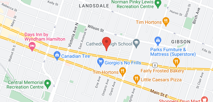 map of 428 King William St