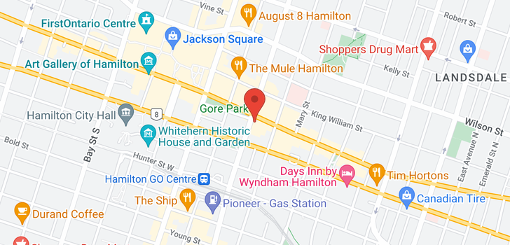 map of 1306 112 King St E
