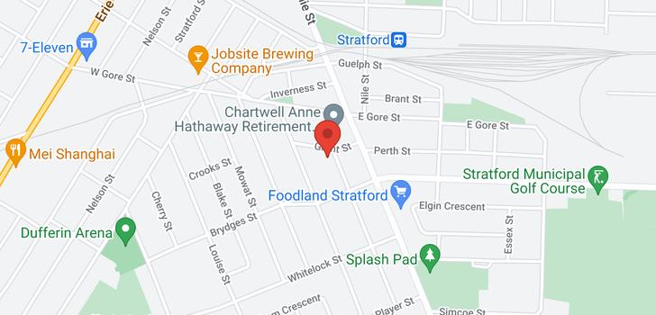 map of 4 McNab Street
