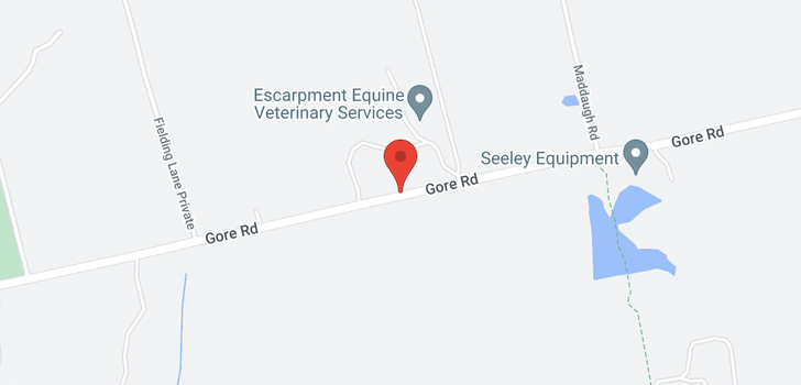 map of 7474 GORE Road
