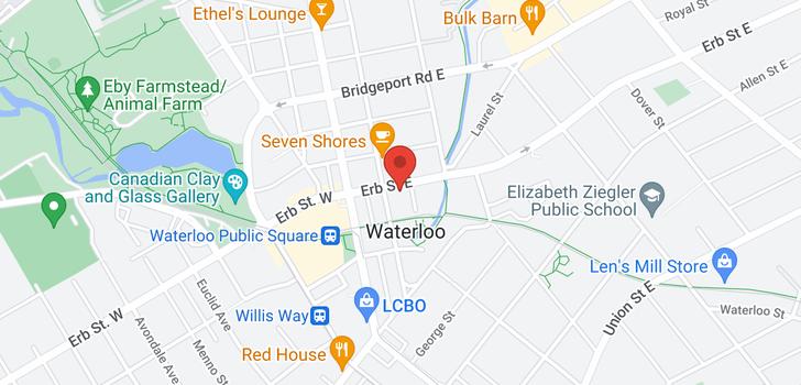 map of 33 ERB Street E