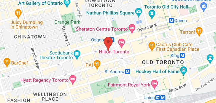 map of 913 140 Simcoe St