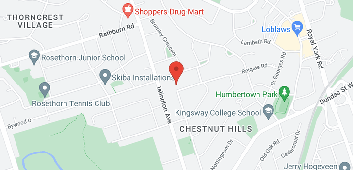 map of  70 Chestnut Hills  Pkwy