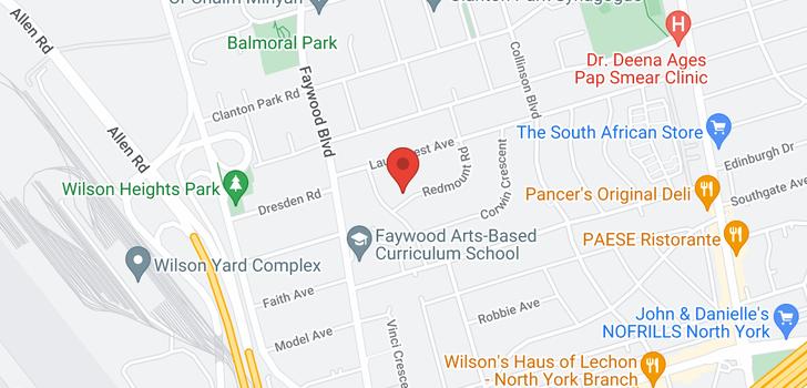 map of 6 Redmount Rd