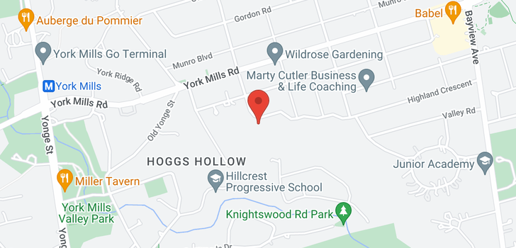 map of 53 Highland Cres