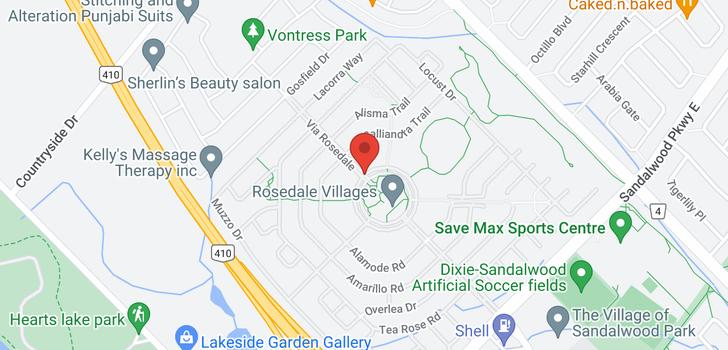 map of 115 60 Via Rosedale Way