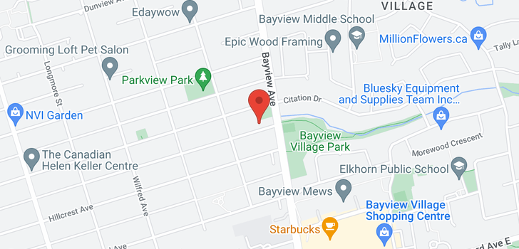 map of  396 Princess Ave