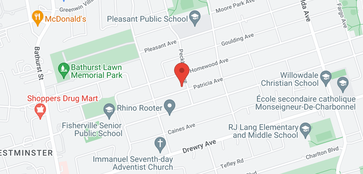map of  342 Patricia Ave