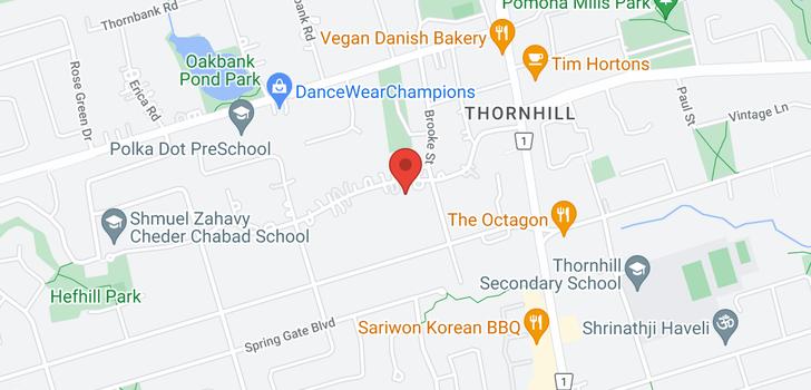 map of  45 Thornridge Dr