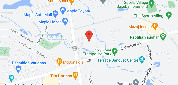map of 1104 9255 Jane St