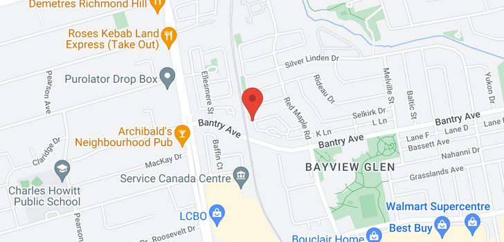 map of 505 75 King William Cres