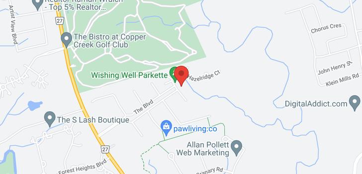map of  1 Wishing Well Crt