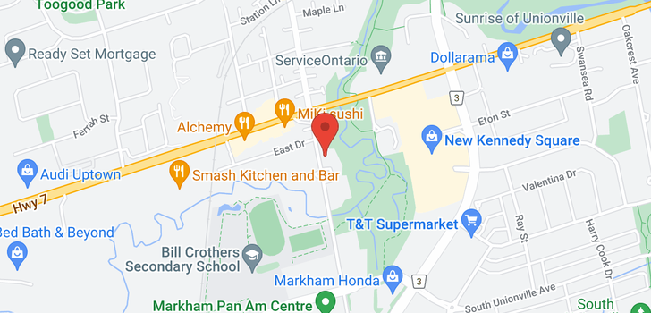 map of 81 Main Unionville St