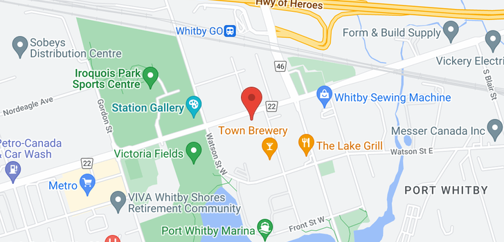 map of 1110 1600 Charles St