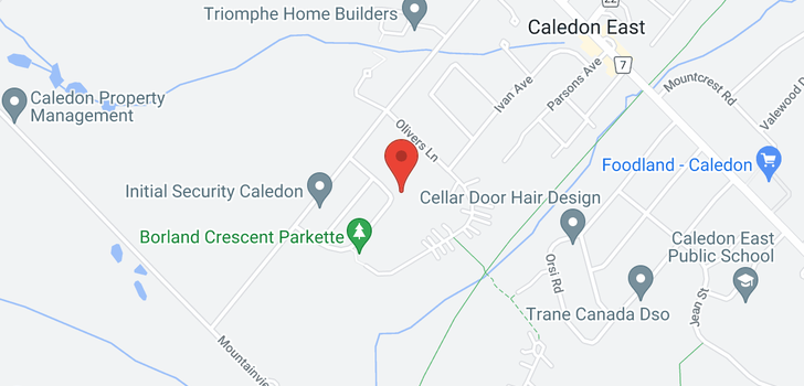 map of  19 Borland Cres