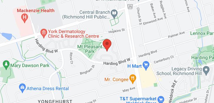 map of 1201 20 Harding Blvd W