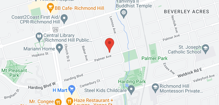 map of  237 Lawrence Ave