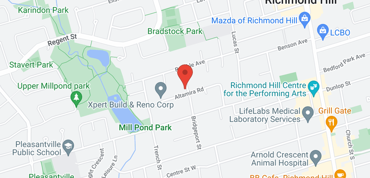map of  126 Libby Blvd