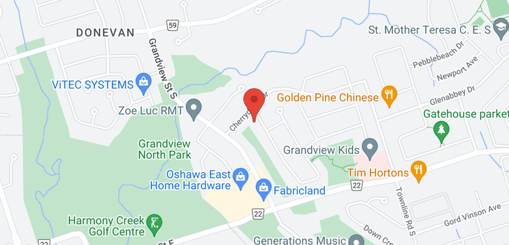 map of  510 Annandale St