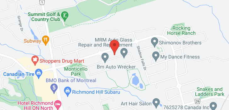map of  20 Misty Well Dr