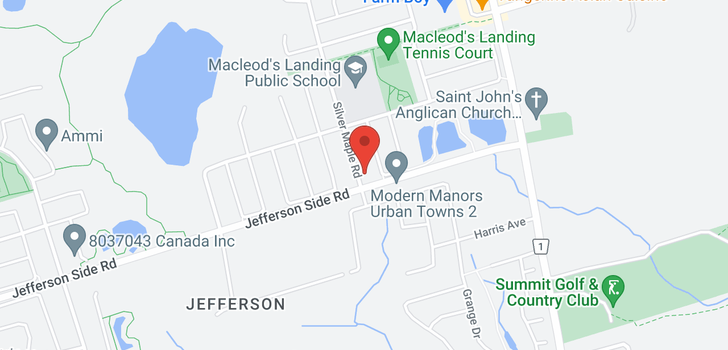 map of  231 Silver Maple Rd