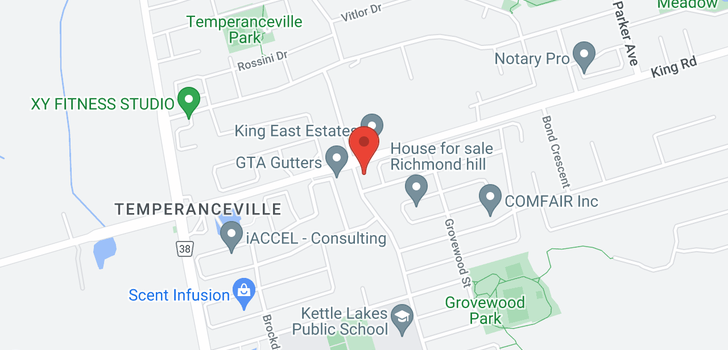 map of 3 Kingshill Rd