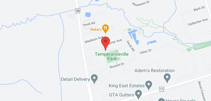 map of 78 PORTAGE AVE