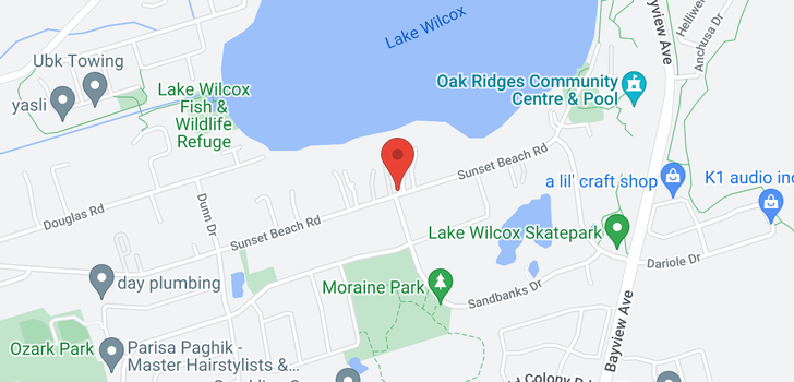 map of  482 Sunset Beach Rd