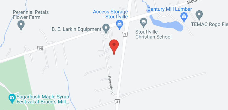 map of  25 Kennedy Lane