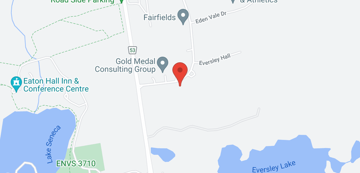 map of 20 Fairfield Dr