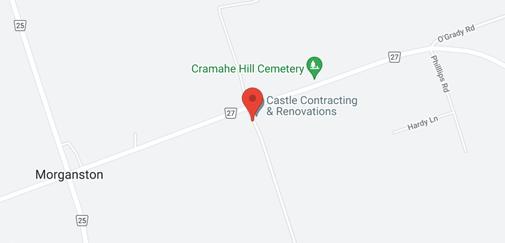 map of 413 Carr Rd