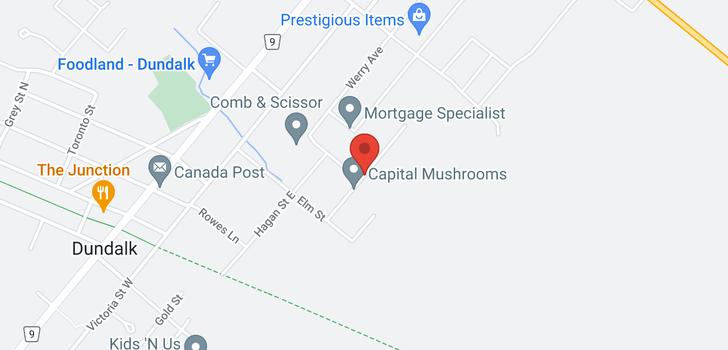 map of  331 Van Dusen Ave