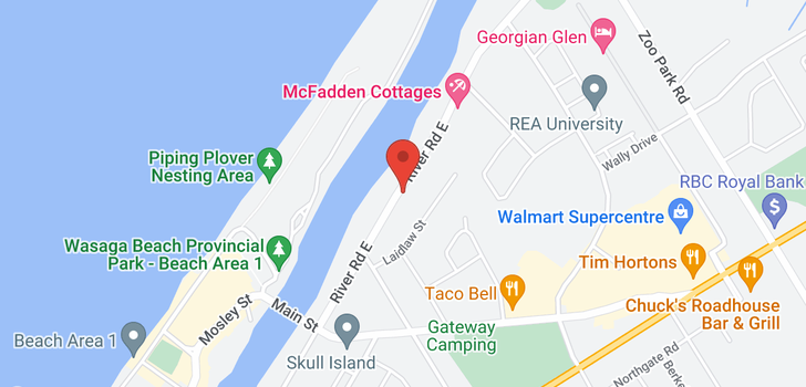 map of  113 River Rd E