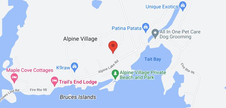 map of  60 Alpine Lake Rd