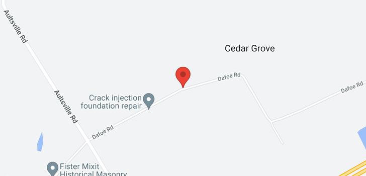 map of 14251 DAFOE ROAD