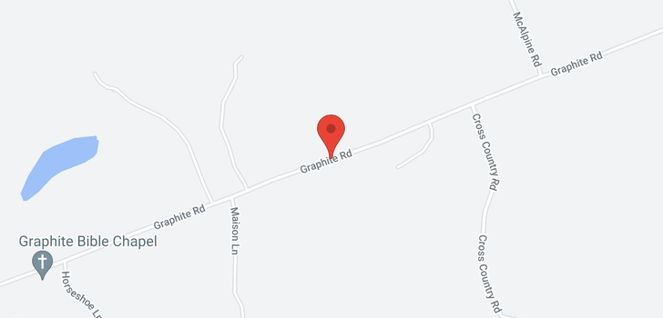 map of 0 GRAPHITE RD