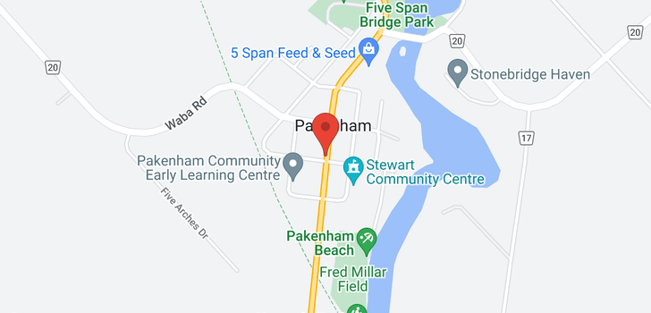 map of 2561 COUNTY RD 29 ROAD