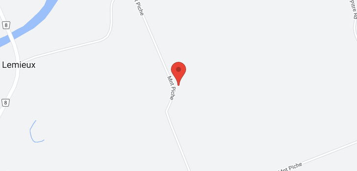 map of 3237 PICHE ROAD