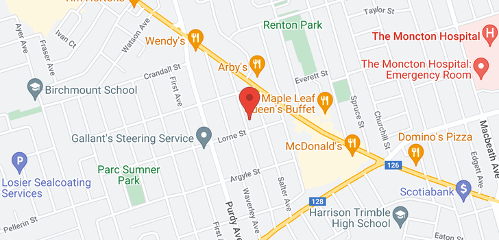 map of 117 Atkinson AVE