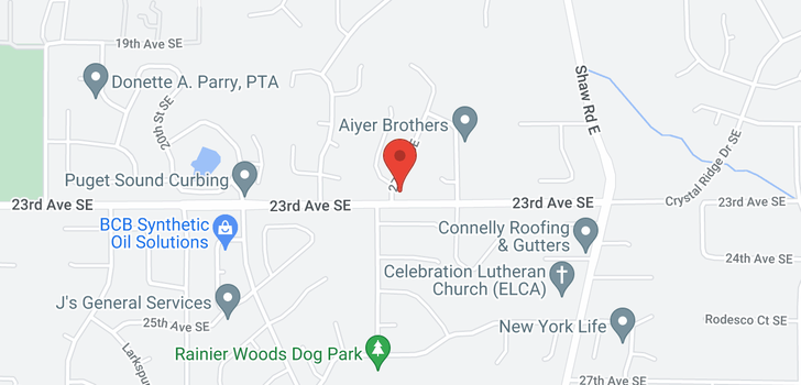 map of 2325 28th St Pl