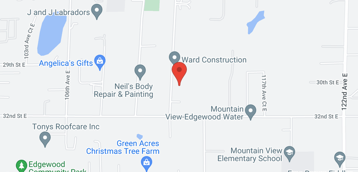 map of 2712 110th Ave