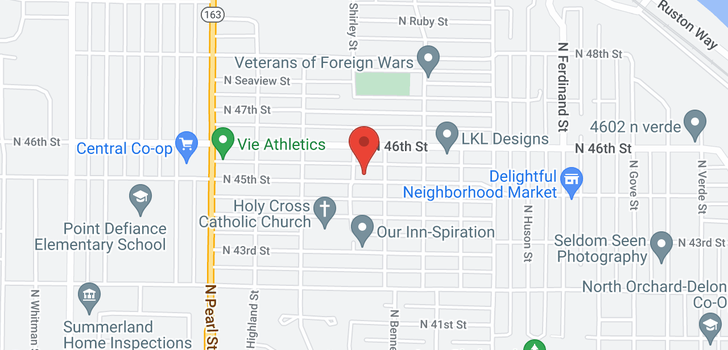 map of 5529 N 48th St