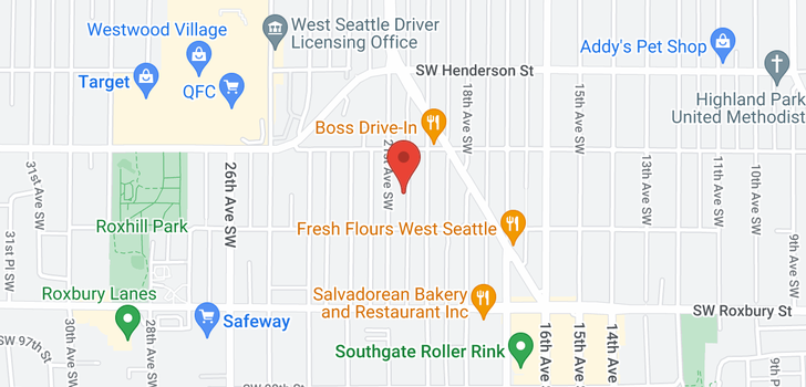 map of 9202 23rd Ave