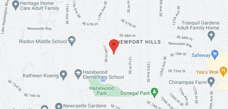 map of 6644 118th Ave