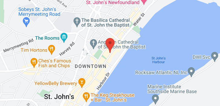 map of 168 Water Street